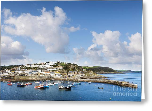 Mevagissey Cornwall England Greeting Card by Colin and Linda McKie