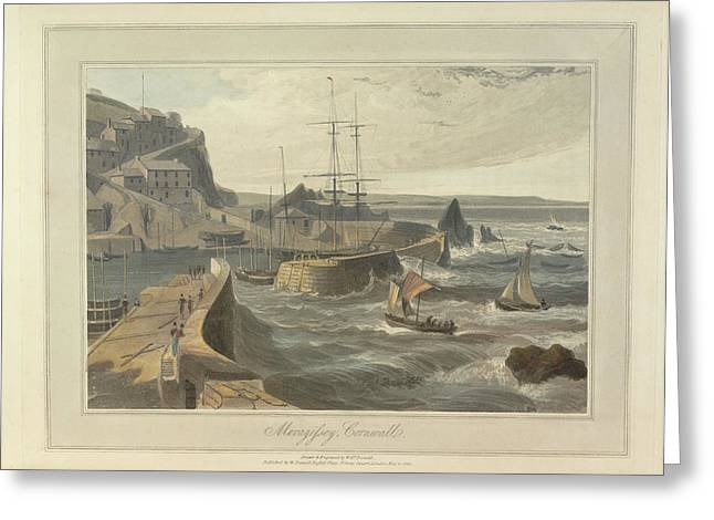 Mevagissy Greeting Card by British Library