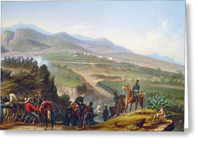 Mexican Army, 1846-1848 Greeting Card by Granger