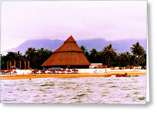 Mexican Beach Party Greeting Card