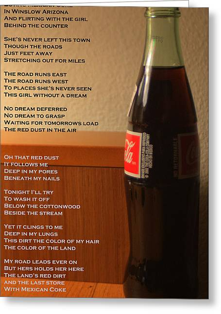 Mexican Coke Greeting Card