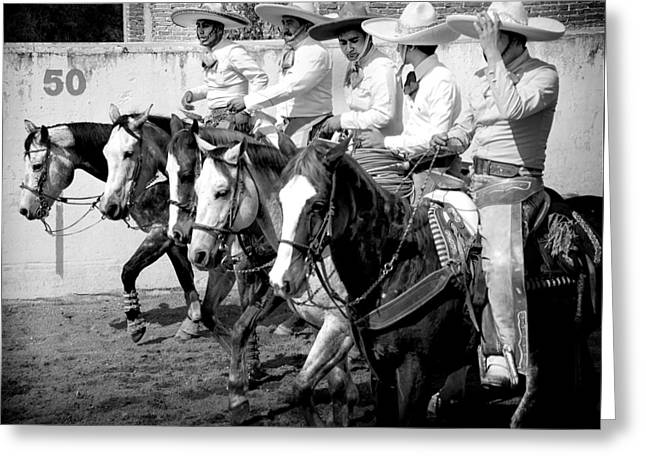 Mexican Cowboys Greeting Card