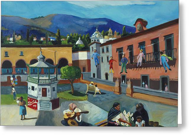 Mexican Memories Of San Miguel Greeting Card