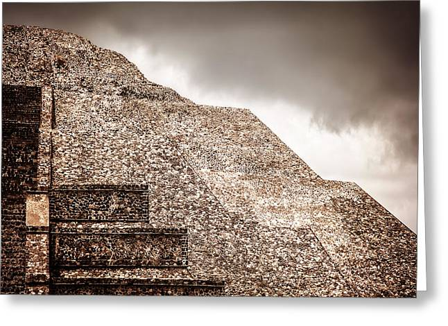 Mexican Pyramid Greeting Card