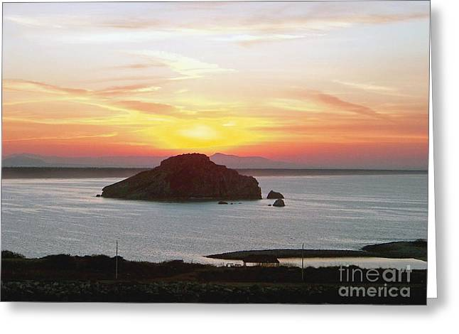 Mexican Riviera Sunset Greeting Card