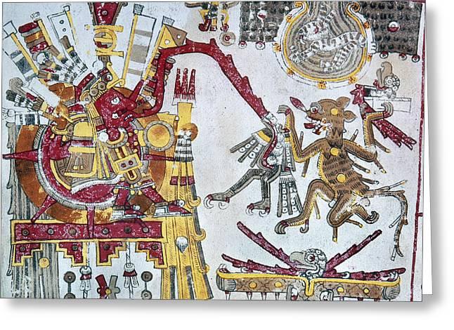 Mexico Aztec Ceremony Greeting Card