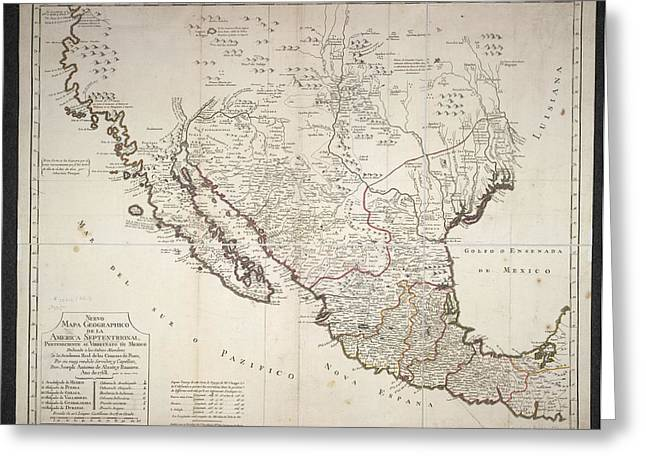 Mexico Greeting Card by British Library