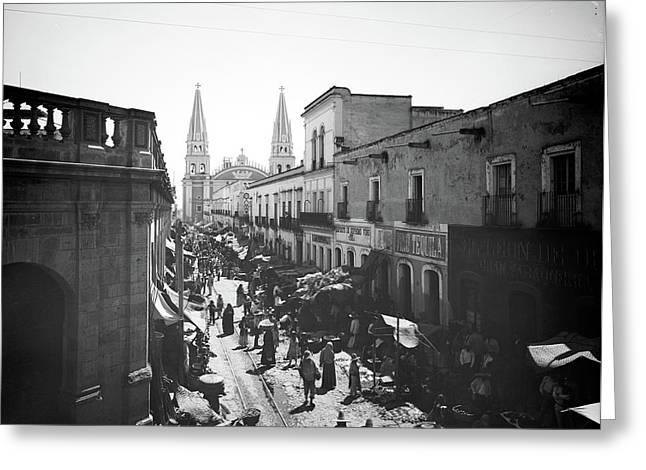 Mexico Guadalajara, C1890 Greeting Card by Granger
