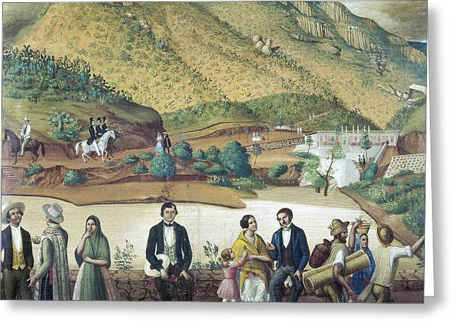 Mexico Guanajuato, C1850 Greeting Card by Granger