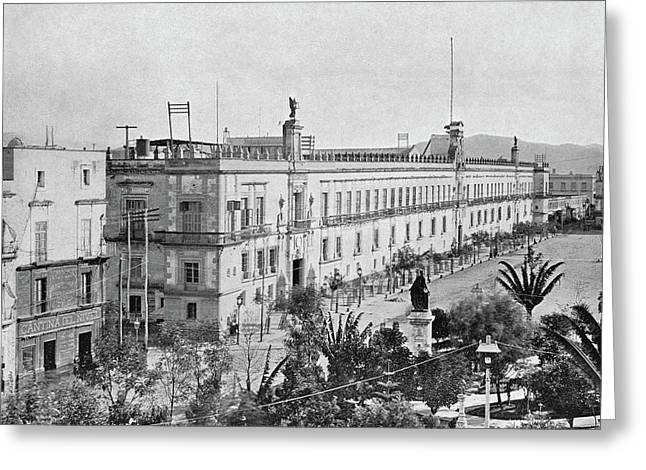 Mexico National Palace Greeting Card