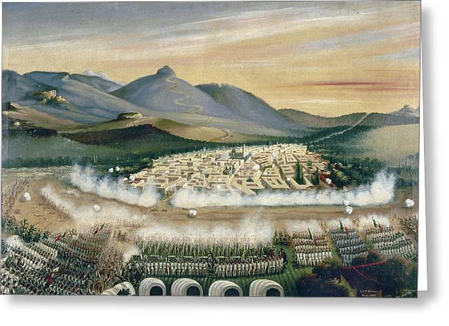 Mexico Reform War, 1860 Greeting Card by Granger