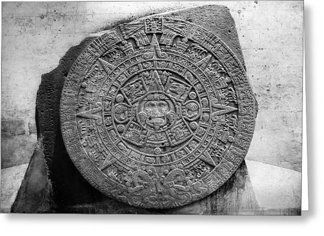 Mexico Stone Of The Sun Greeting Card by Granger