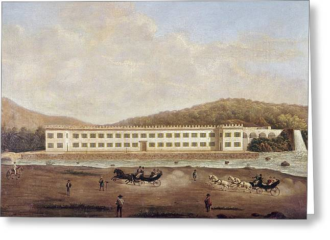 Mexico Textile Factory Greeting Card