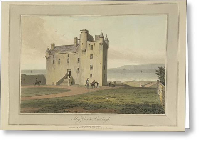 Mey Castle In Caithness Greeting Card by British Library