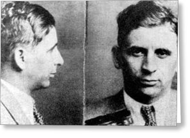 Meyer Lansky, Polish-american Mob Greeting Card by Science Source