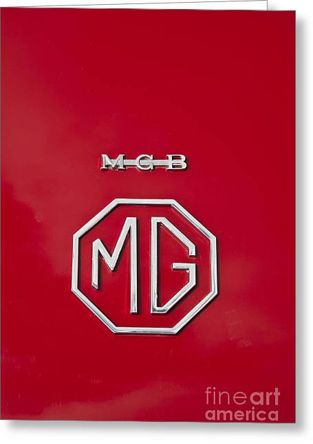 Mg Badge 1 Greeting Card