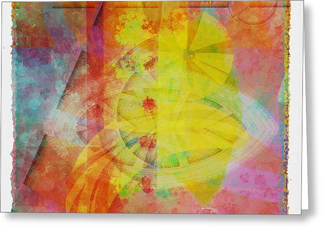 Mgl - Abstract Soft Smooth 02 Greeting Card