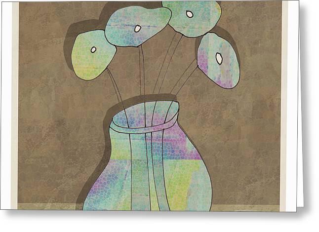 Mgl - Flowers 02 Greeting Card by Joost Hogervorst