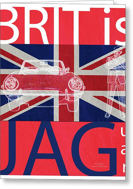 Mgl - Travel Brit Is 02 Greeting Card by Joost Hogervorst