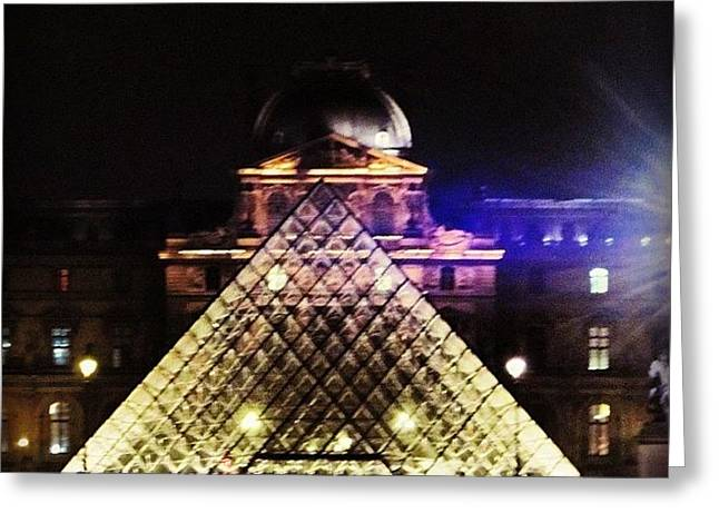 #mgmarts #louvre #paris #france #europe Greeting Card