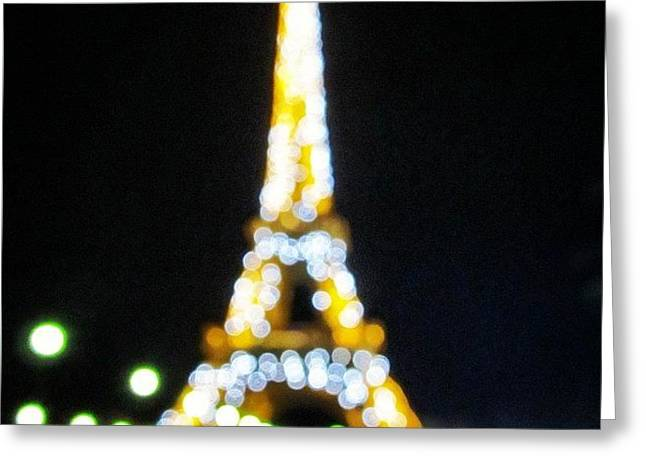 #mgmarts #paris #france #europe #eiffel Greeting Card by Marianna Mills