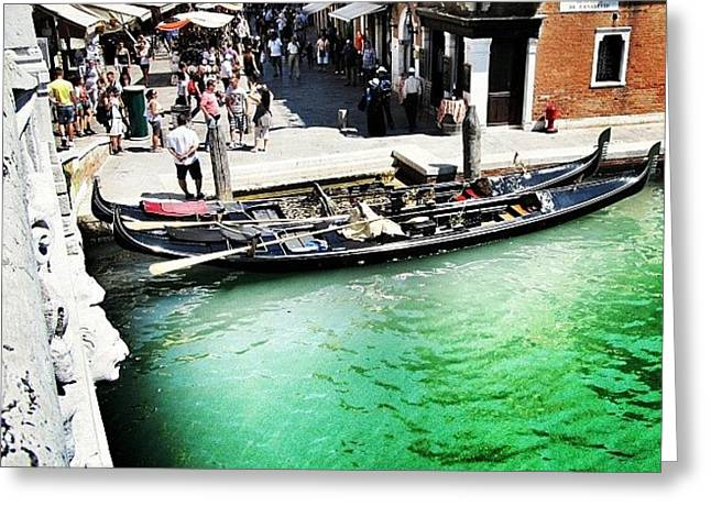#mgmarts #venice #italy #europe #canal Greeting Card