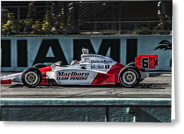 Mhs Indy Greeting Card by Kevin Cable