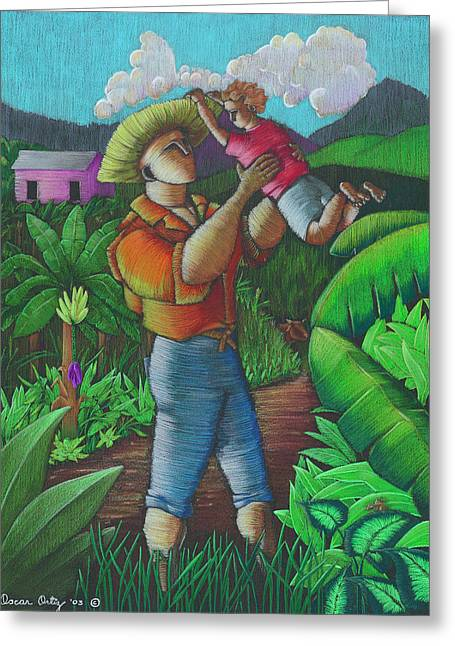 Mi Futuro Y Mi Tierra Greeting Card