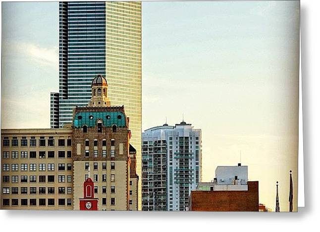 Miami Buildings ... (gesu Church - Greeting Card