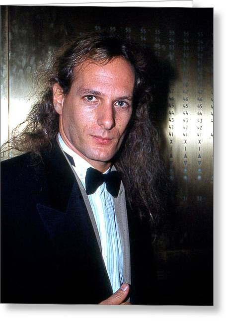 Michael Bolton 1990 Greeting Card