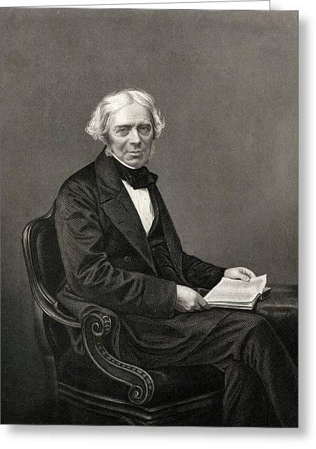 Michael Faraday Greeting Card