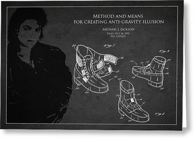 Michael Jackson Patent Greeting Card