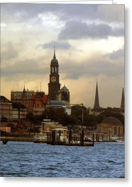 Michel Greeting Card by Peter Norden