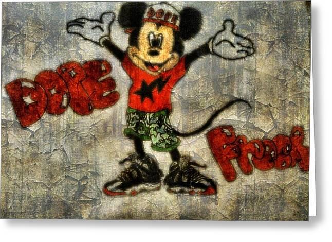 Mickey Of 11 Greeting Card by Travis Hadley