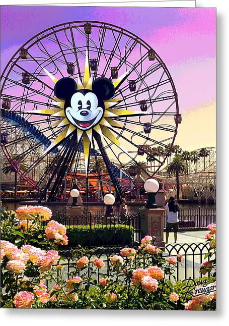 Mickey's Fun Wheel II Greeting Card