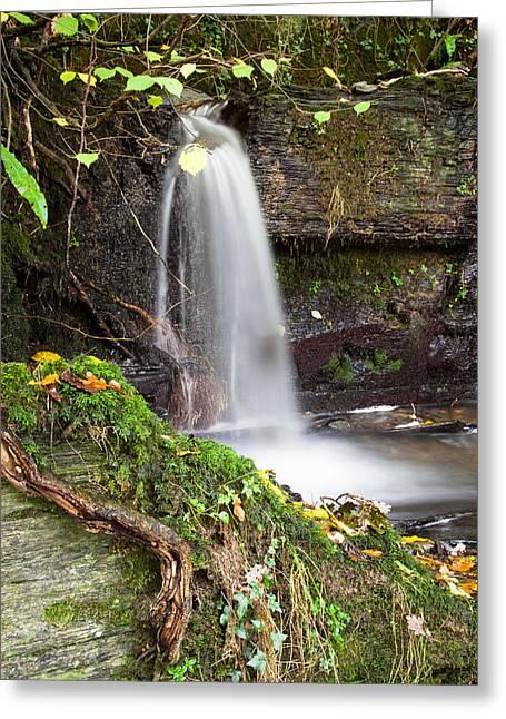 Micro Waterfall Greeting Card