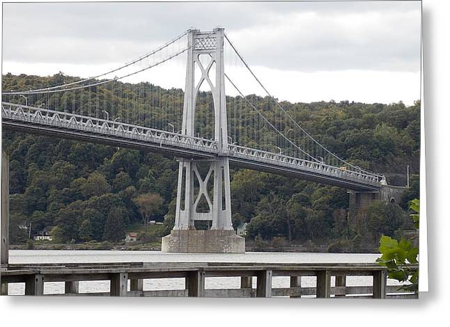 Mid Hudson Bridge Greeting Card