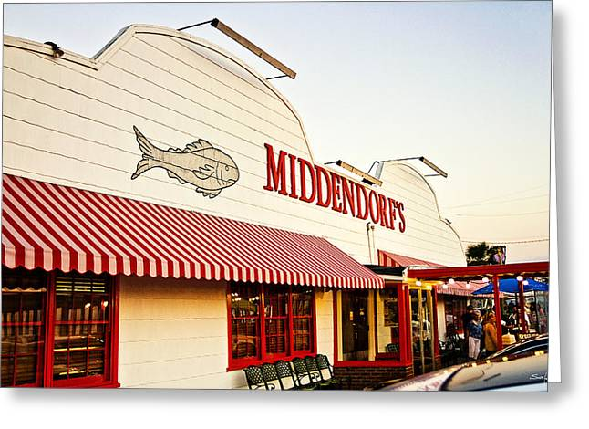 Middendorf's Greeting Card by Scott Pellegrin