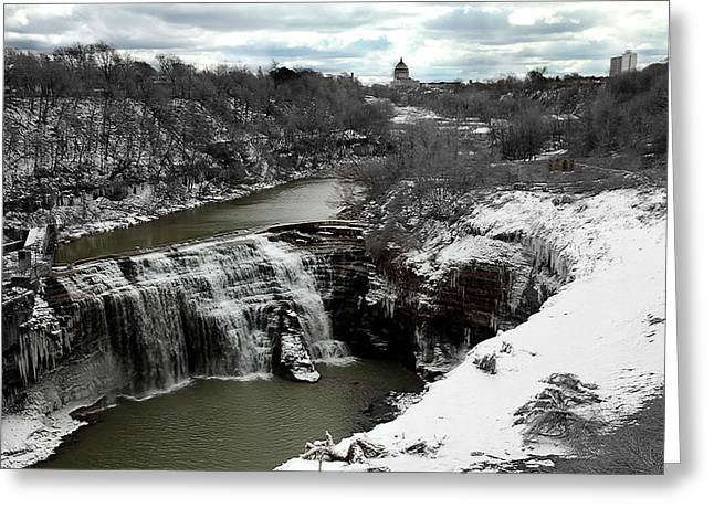 Middle Falls Rochester Ny Greeting Card