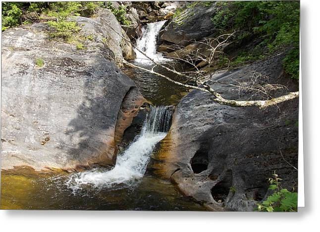 Middle Kent Falls Greeting Card