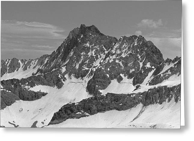 406429-e-middle Palisade Bw Greeting Card