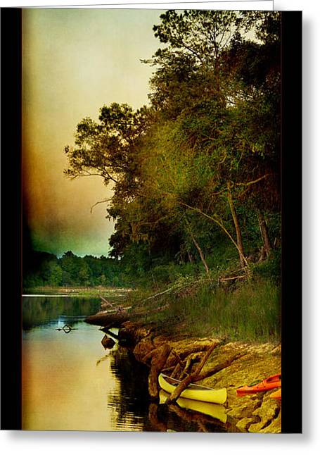 Middle Suwannee Pano Greeting Card by Linda Olsen