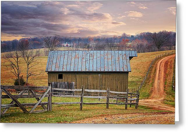 Middleburg Virginia Countryside Greeting Card