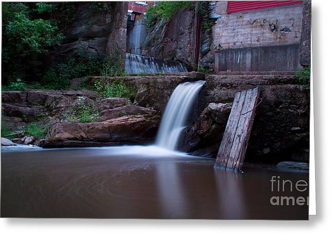 Middlebury Falls. Greeting Card