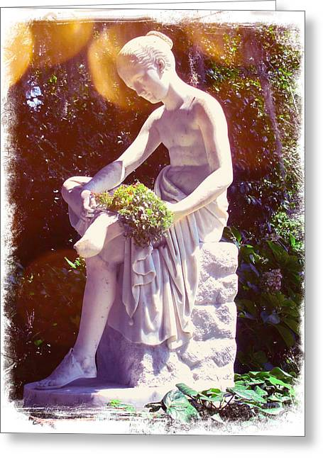 Middleton Statue Greeting Card by Pat Exum
