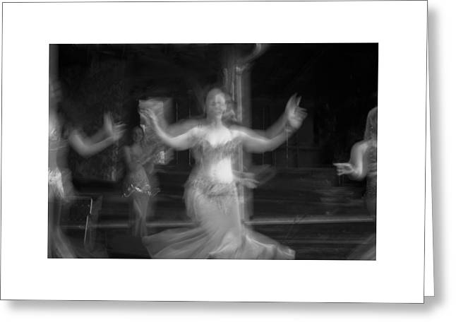 Greeting Card featuring the photograph Mideastern Dancing 7 by Catherine Sobredo
