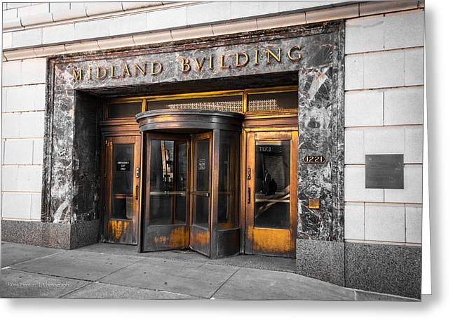 Midland Building Greeting Card