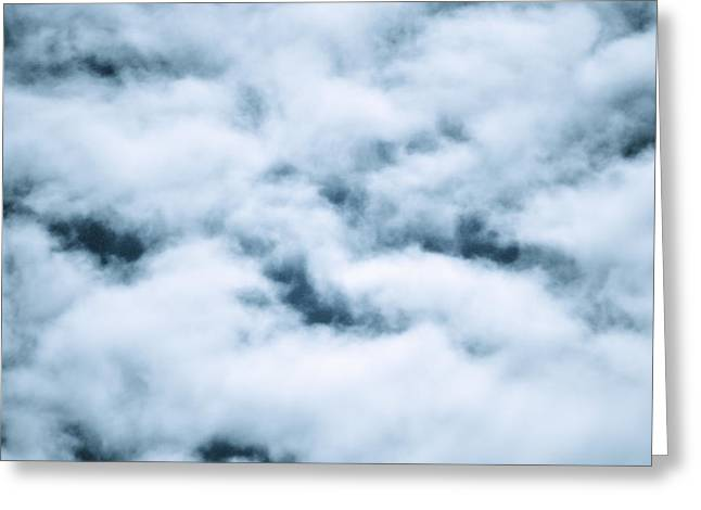 Midnight Clouds  Greeting Card by Sheldon Blackwell