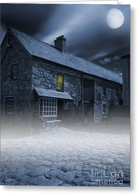 Midnight Mist Greeting Card