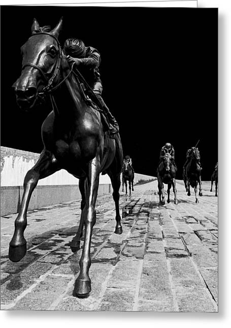 Midnight Ride Greeting Card